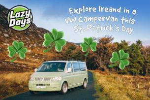 Ireland by VW Campervan for St Patricks Day