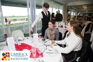 10 pp discount on the Panoramic Restaurant at Limerick Racecourse on St Patricks weekend