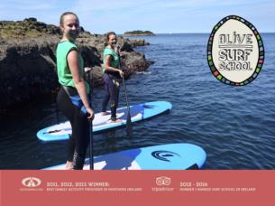 Causeway Coast Paddleboard Adventure Tour