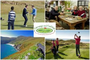 Exhilarating All Inclusive 4 night Wild Atlantic Way Golf Tour only 449pp