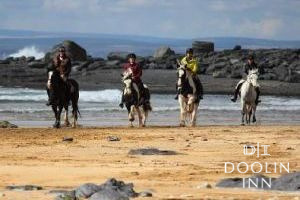 Galloping Sea Horses at Doolin Inn County Clare