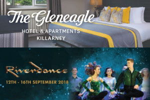 Experience Riverdance LIVE in Killarney from 180 Accommodation and Ticket