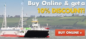 10 Discount Online with Shannon Ferries