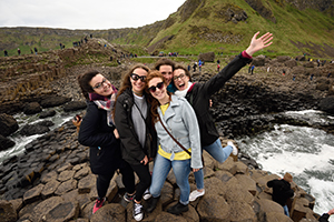 Follow in the footsteps of GIANTS at the legendary Giants Causeway World Heritage Site from 11 p.p