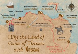 10-Day Game Of Thrones Self-Guided Hike from 1055 per person