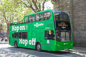 25 off Dublins No1 Hop on Hop off Tour