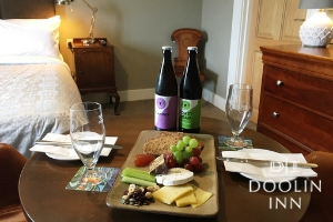 Taste the Burren  2 BB at Doolin Inn Burren Cheese Plate Craft Beers on arrival  Late Checkout