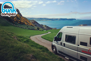 Tour Ireland with Campervan Hire from Bunk Campers