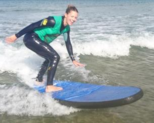 Surfing the Causeway Coast