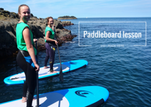 Paddleboarding the Causeway Coast