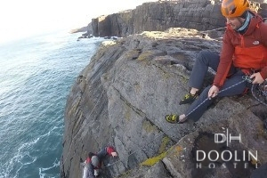 Group Special - 2 Nights at Doolin Hostel in Clare with Sea Cliff Climbing Excursion from 109 pps