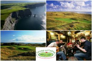 Wild Atlantic Way  7 night ALL INCLUSIVE Ultimate Golf  Ireland Vacation
