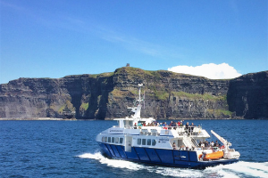 20 Off Cliffs of Moher Cruise and Aran Islands Boat Trip