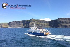 20 Off Cliffs of Moher Cruise  Aran Islands Boat Trip