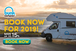 Book Campervan Hire for 2019  Save with Bunk Campers