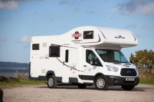 3 nights in 6 berth motorhome with free bedding and Belfast deliver for 360.00
