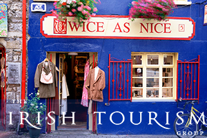 3 Nights in Galway on our 3 Centre Tour of Ireland from 771 pps incl Car Rental