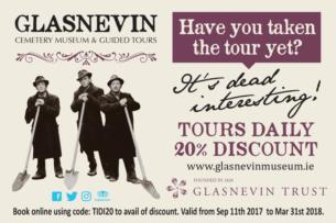 20 Discount on Dead Interesting Tour at Glasnevin Cemetery Museum