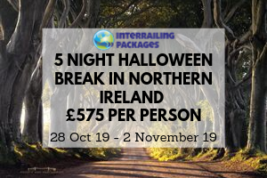 5 Night Halloween Break in Northern Ireland for 575 per person