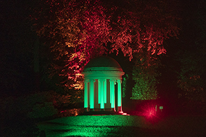 Atmospheric sound and light Halloween walking trail for 7 per person