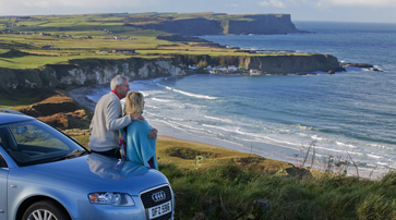 Renting a vehicle in Ireland