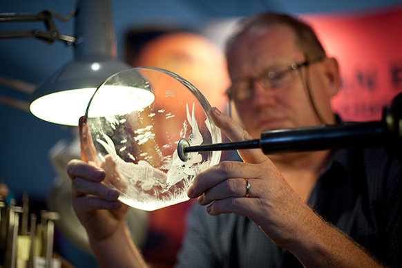Waterford Crystal craftsman