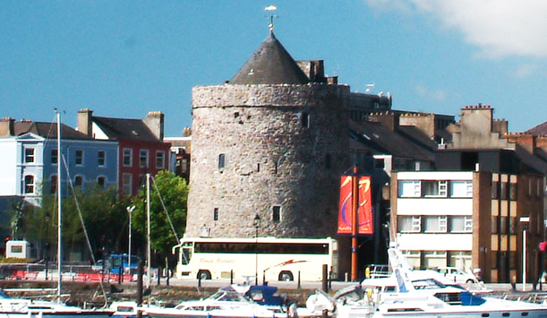 Reginald's Tower was at the heart of the Viking action