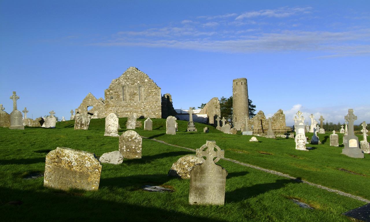 Clonmacnoise Monastic Site Ireland Com