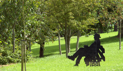 Patrick Kavanagh Sculpture
