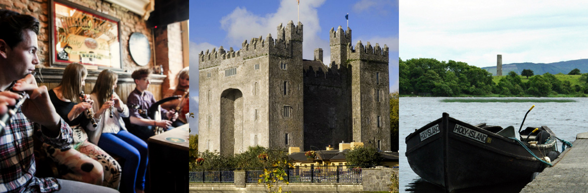 Bunratty Castle, Holy Island, County Clare