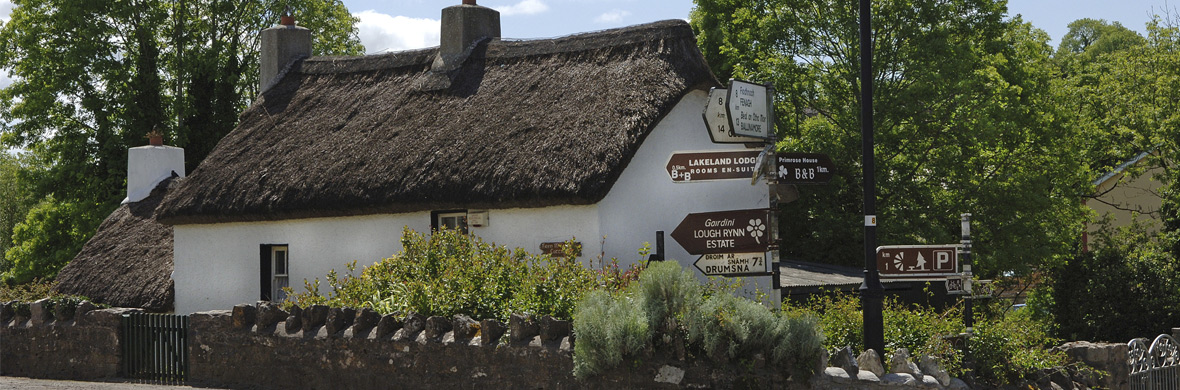 Thatched cottage, Keshcarrigan