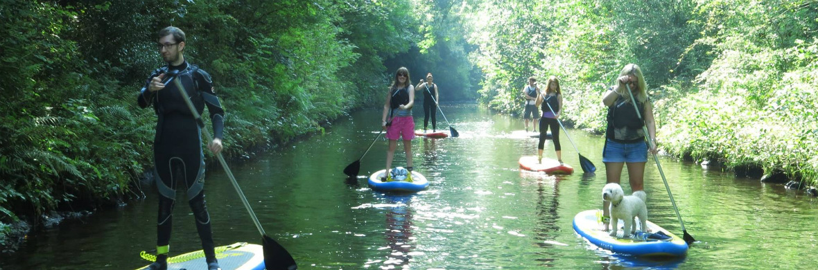 Paddle boarding in Leitrim Village