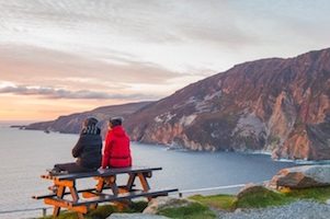 Discover the Slieve League cliffs