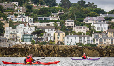 Watch: kayaking in Dublin