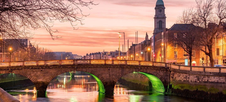 cena che risale Dublino Irlanda