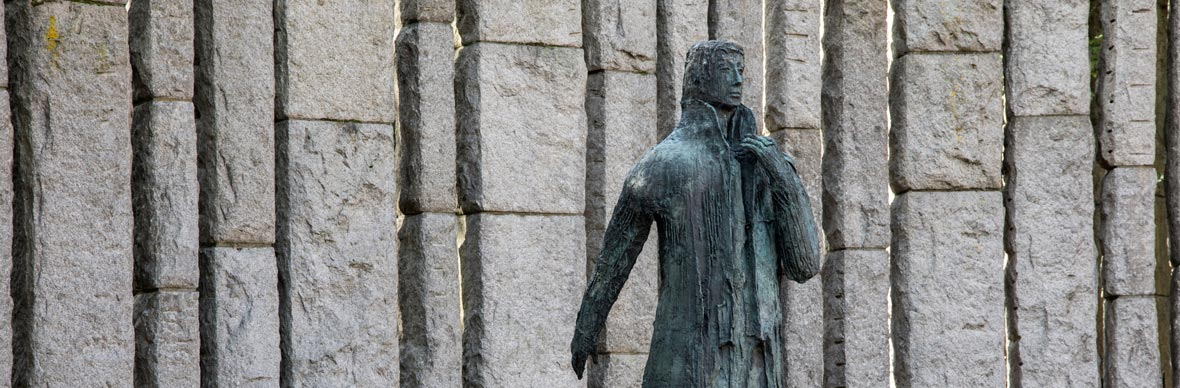 Wolfe Tone statue, St Stephen's Green