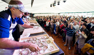 Galway International Oyster & Seafood Festival (28. bis 30. September)