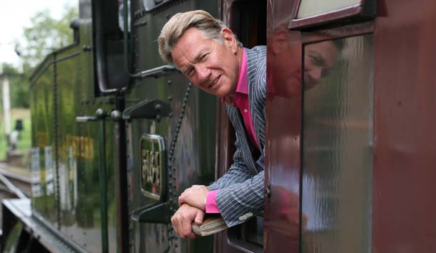 Michael Portillo sets off on another of his Great British Railway Journeys