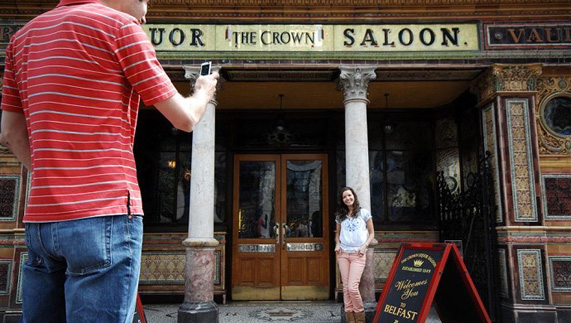 The Crown Bar Liquor Saloon