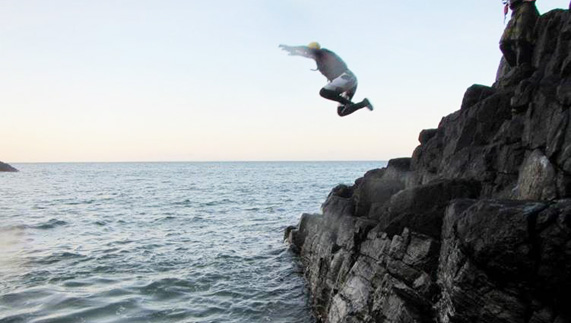 Coasteering: Take a leap of faith