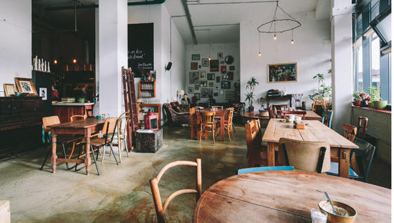 The Fumbally Café, Dublin City