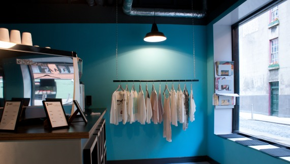 Tamp and Stitch: Coffee and clothes in Temple Bar