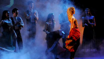 Riverdance gets mystical