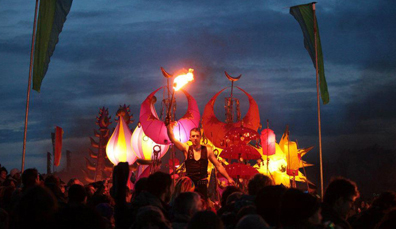 Uisneach Festival of Fire, Grafschaft Westmeath (Mai)