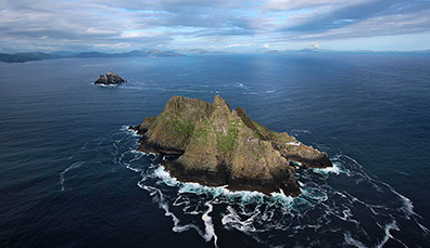 L'aura de star de Skellig Michael