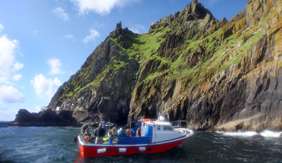 Explore the Skelligs by boat