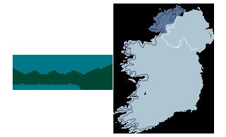 Map Of Ireland Headlands.Northern Headlands Wild Atlantic Way Ireland Com