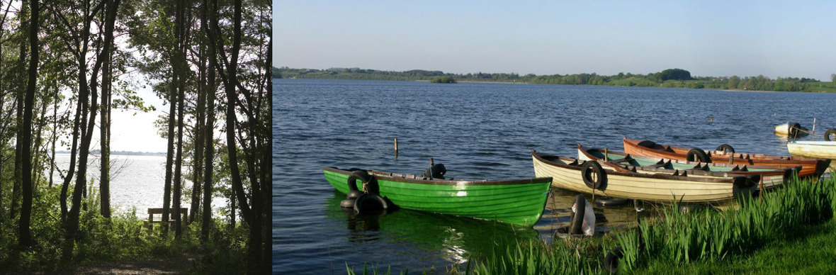Lough Ennell and Lough Owel, County Westmeath
