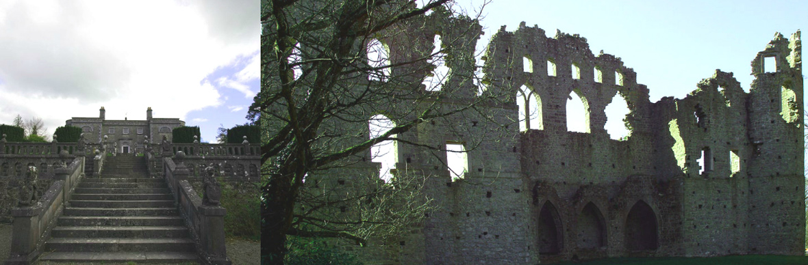Belvedere House and Jealous Wall, County Westmeath