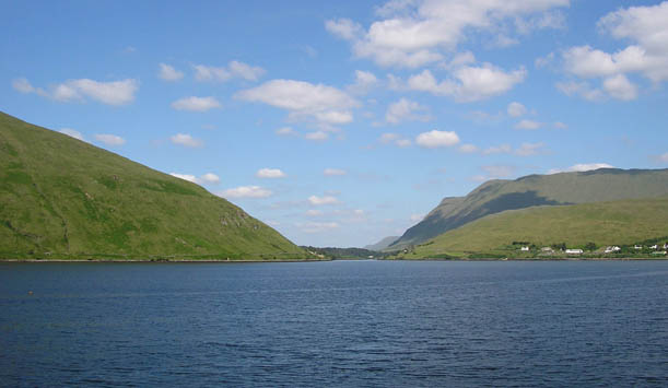 Killary Fjord, Connemara, County Galway